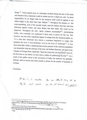 Argumentative essay about military service